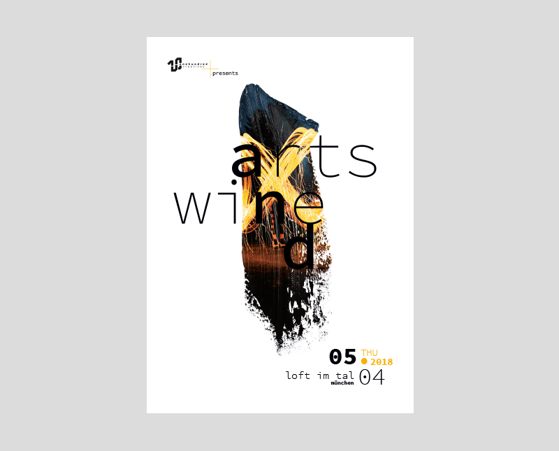 Poster Design – Arts and Wine 2018