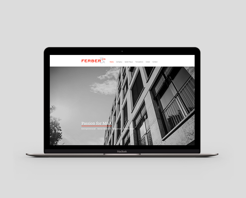 Website Design – Ferber & Co. / www.ferberco.com