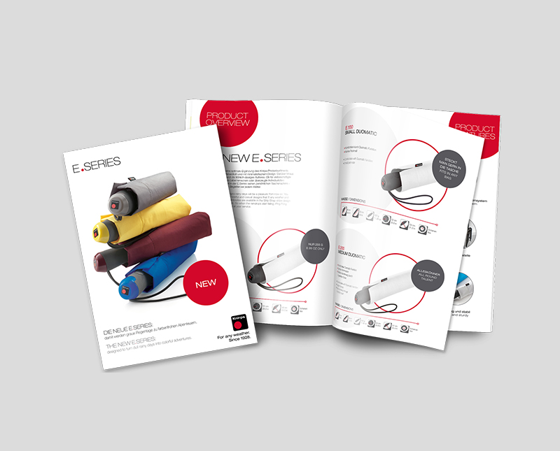Brochure Design – Knirps (via Weder&Noch)
