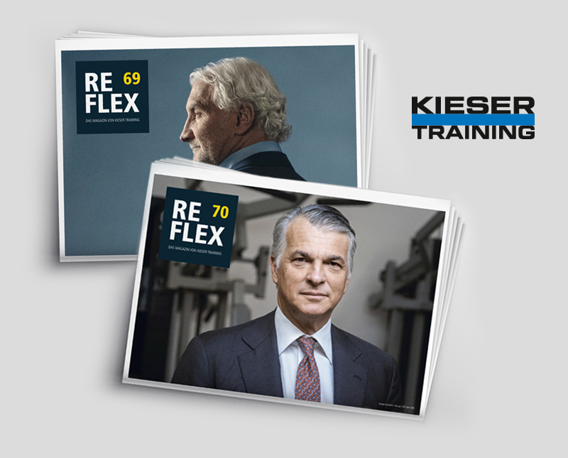 "Corporate Design Magazine ""Reflex""– Kieser Training"